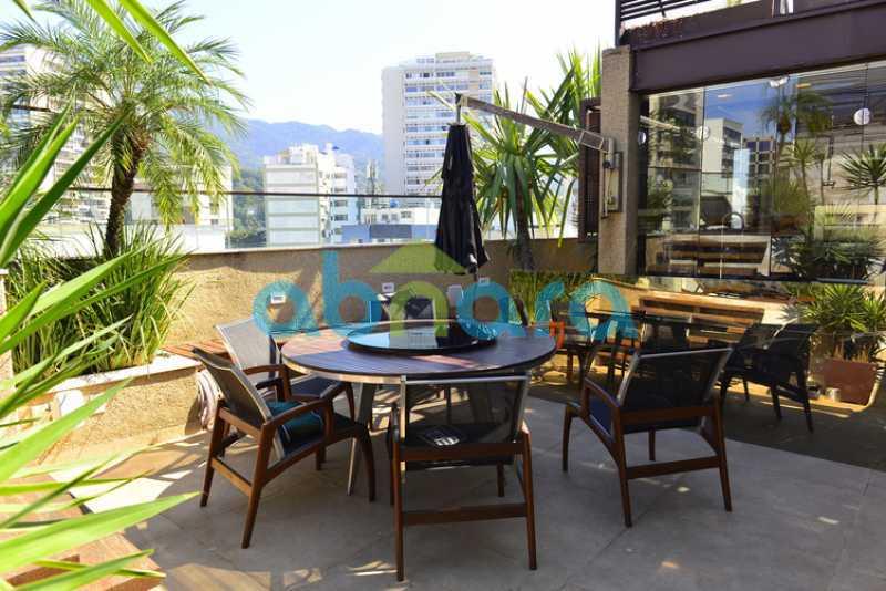 5 - luxo, luxuosa, cobertura Duplex, 1 por andar, Alto padrão, Leblon - CPCO40117 - 6