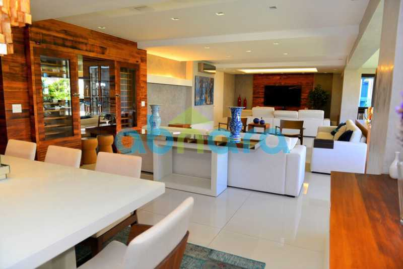 7 - luxo, luxuosa, cobertura Duplex, 1 por andar, Alto padrão, Leblon - CPCO40117 - 8