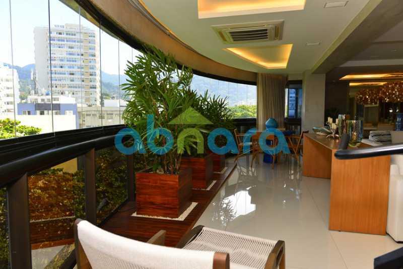 9 - luxo, luxuosa, cobertura Duplex, 1 por andar, Alto padrão, Leblon - CPCO40117 - 9