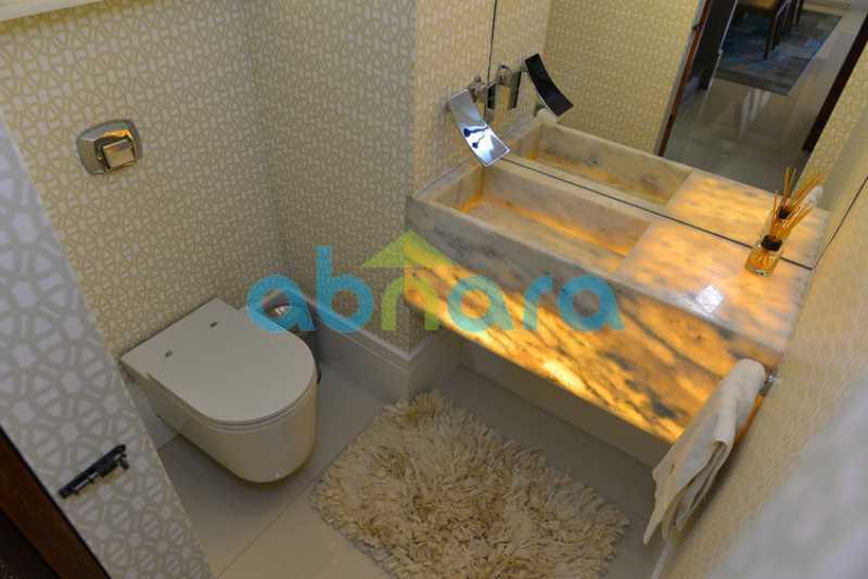 10 - luxo, luxuosa, cobertura Duplex, 1 por andar, Alto padrão, Leblon - CPCO40117 - 10