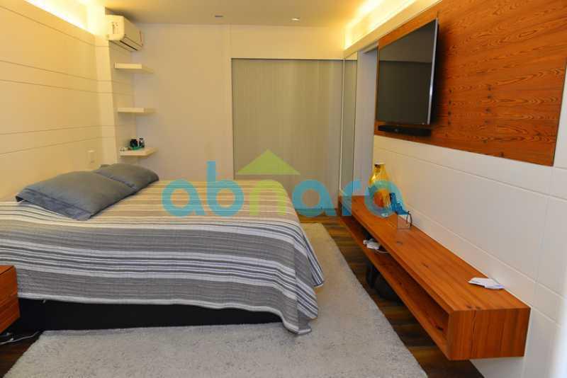 11 - luxo, luxuosa, cobertura Duplex, 1 por andar, Alto padrão, Leblon - CPCO40117 - 11