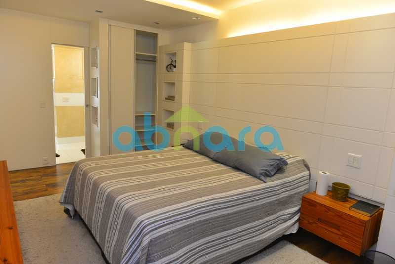 12 - luxo, luxuosa, cobertura Duplex, 1 por andar, Alto padrão, Leblon - CPCO40117 - 12