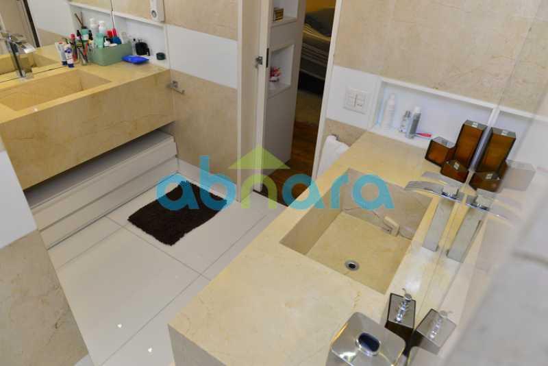 13 - luxo, luxuosa, cobertura Duplex, 1 por andar, Alto padrão, Leblon - CPCO40117 - 13