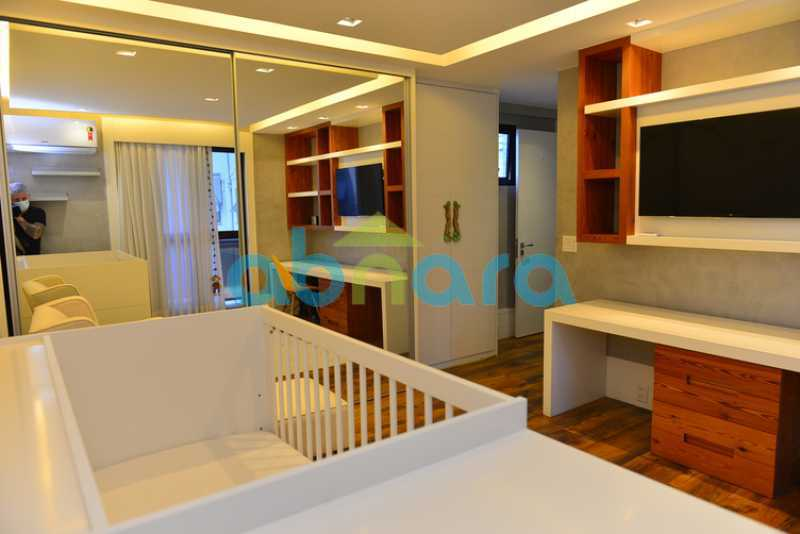 17 - luxo, luxuosa, cobertura Duplex, 1 por andar, Alto padrão, Leblon - CPCO40117 - 16