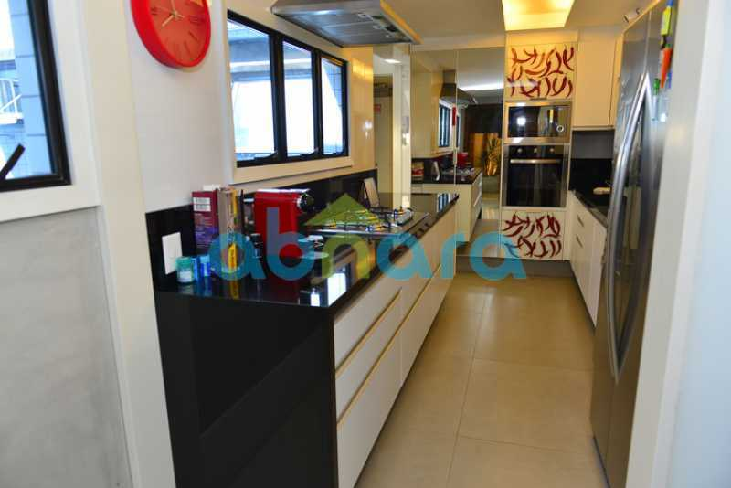 18 2 - luxo, luxuosa, cobertura Duplex, 1 por andar, Alto padrão, Leblon - CPCO40117 - 17