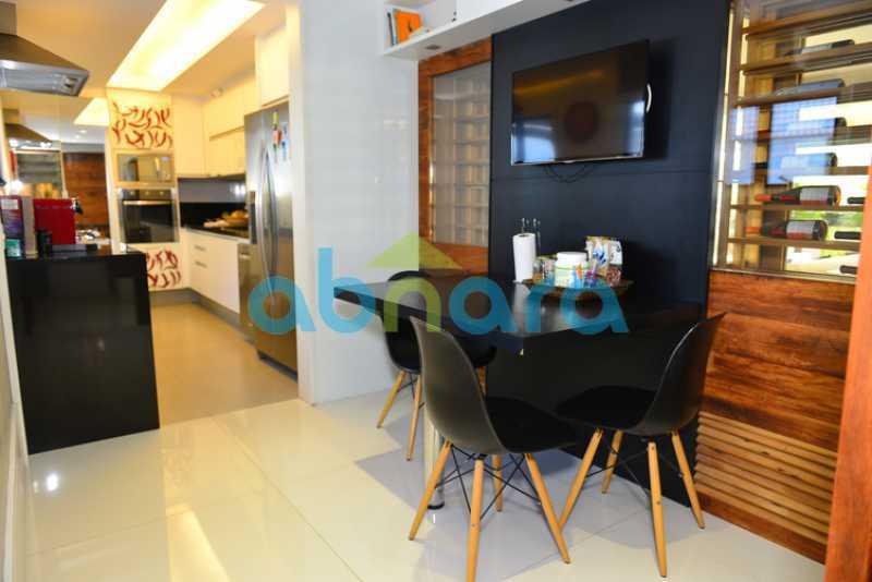 18 - luxo, luxuosa, cobertura Duplex, 1 por andar, Alto padrão, Leblon - CPCO40117 - 18