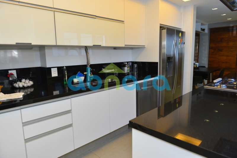 19 - luxo, luxuosa, cobertura Duplex, 1 por andar, Alto padrão, Leblon - CPCO40117 - 19