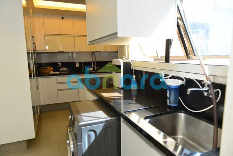 21 - luxo, luxuosa, cobertura Duplex, 1 por andar, Alto padrão, Leblon - CPCO40117 - 20