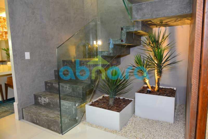 22 - luxo, luxuosa, cobertura Duplex, 1 por andar, Alto padrão, Leblon - CPCO40117 - 21