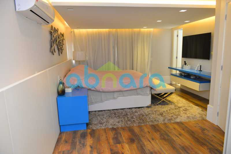 24 - luxo, luxuosa, cobertura Duplex, 1 por andar, Alto padrão, Leblon - CPCO40117 - 23