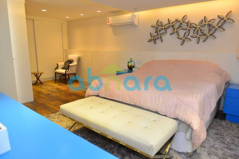 25 - luxo, luxuosa, cobertura Duplex, 1 por andar, Alto padrão, Leblon - CPCO40117 - 24