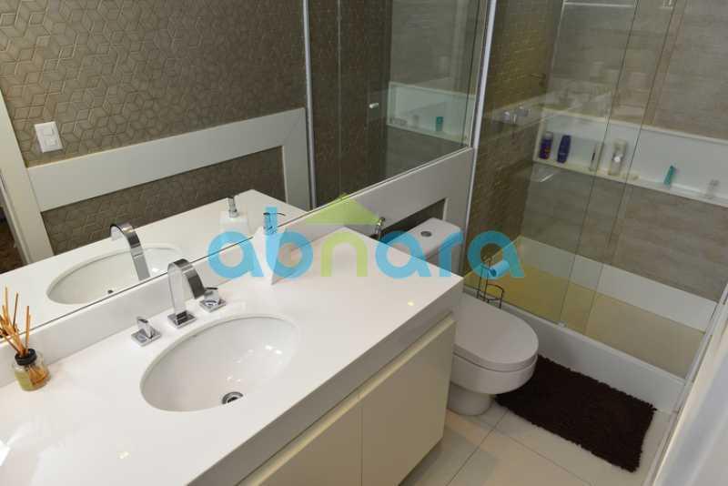 27 - luxo, luxuosa, cobertura Duplex, 1 por andar, Alto padrão, Leblon - CPCO40117 - 25