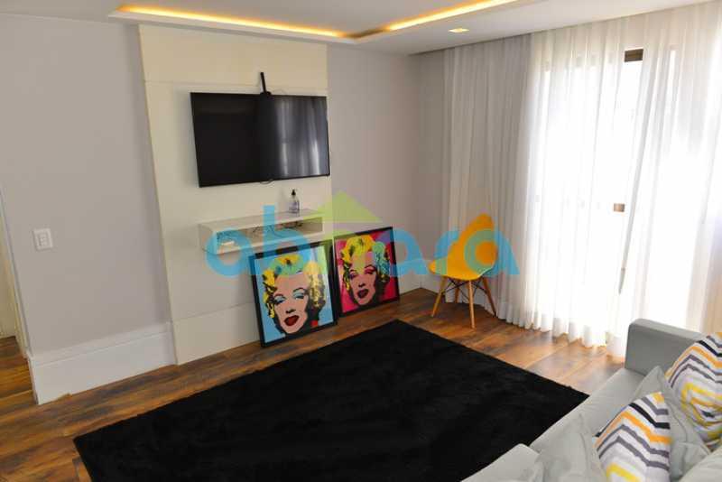 29 - luxo, luxuosa, cobertura Duplex, 1 por andar, Alto padrão, Leblon - CPCO40117 - 26