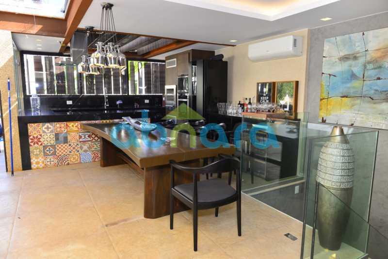 31 - luxo, luxuosa, cobertura Duplex, 1 por andar, Alto padrão, Leblon - CPCO40117 - 29