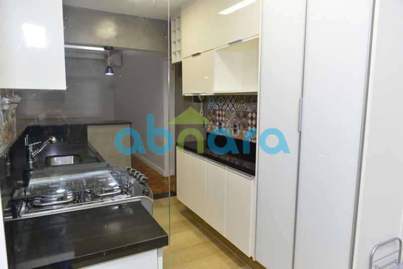 cozinha americana Armários - Apartamento 2 quartos à venda Botafogo, Rio de Janeiro - R$ 950.000 - CPAP20715 - 16