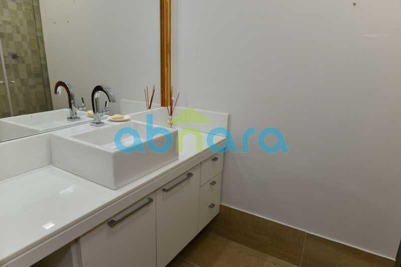 Baneheiro Social - pia - Apartamento 2 quartos à venda Botafogo, Rio de Janeiro - R$ 950.000 - CPAP20715 - 19