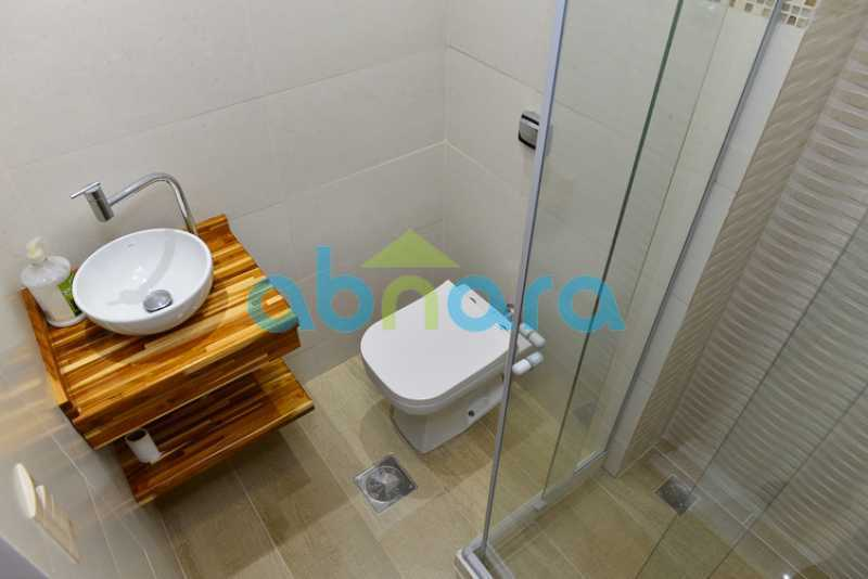 Banheiro de Serviço - pia  - Apartamento 2 quartos à venda Botafogo, Rio de Janeiro - R$ 950.000 - CPAP20715 - 20