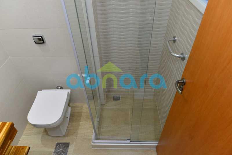 Banheiro de Serviço - box - Apartamento 2 quartos à venda Botafogo, Rio de Janeiro - R$ 950.000 - CPAP20715 - 21