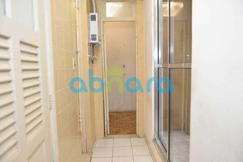 15 - 2 quartos, sala, dependência completa - CPAP20717 - 17