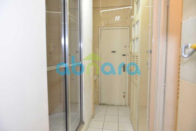 19 - 2 quartos, sala, dependência completa - CPAP20717 - 21