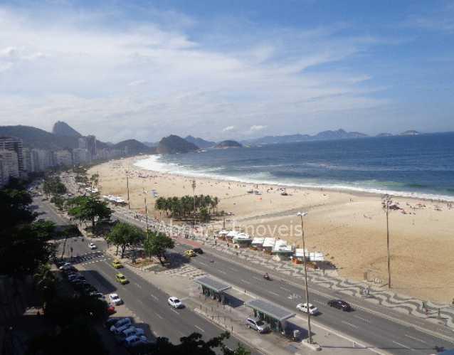01 - Apartamento à venda Avenida Atlântica,Copacabana, Rio de Janeiro - R$ 2.700.000 - CPAP10025 - 1