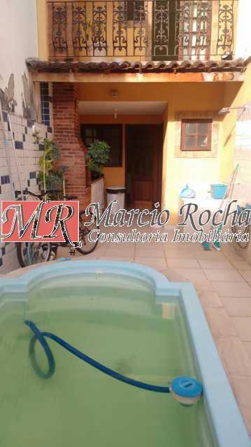 36301679_776636082539066_65854 - Valqueire casa quintal 4 quartos 3 suítes 2vgs piscina - VLCN40014 - 22