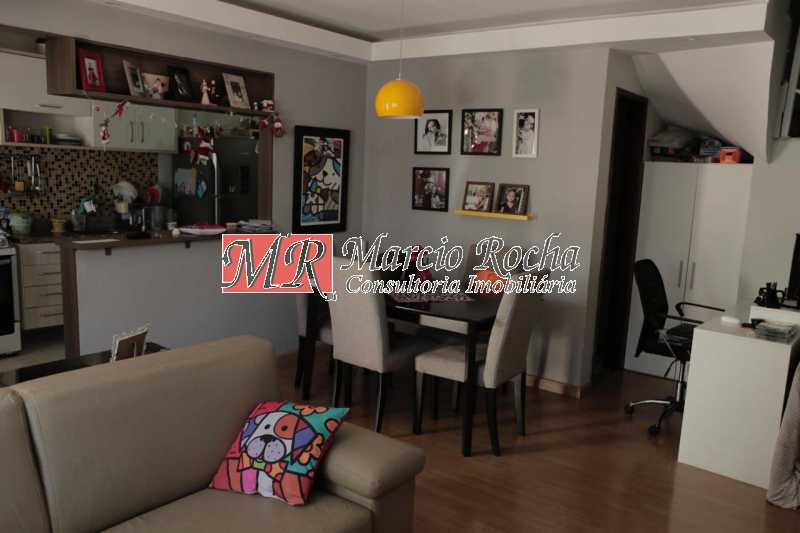60a5115d-5c9b-48cd-9cb1-3ff98b - Pechincha Casa Duplex, 2 quartos suite, varanda - VLCN20029 - 5