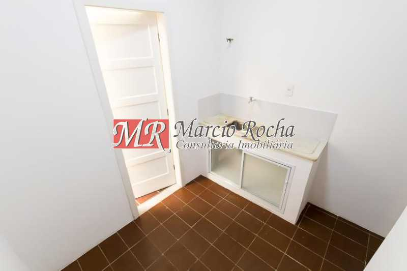 fotos-32 - Tijuca, casarão 170m2, frente rua, 3 qts, 2bhs, 1vg, quintal. - VLCA30025 - 27