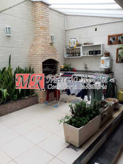 0c174f0c-abdb-48e3-84f5-13d40f - Valqueire luxo casa 4 qts suíte terraço piscina 3 vgs - VLCN40019 - 4