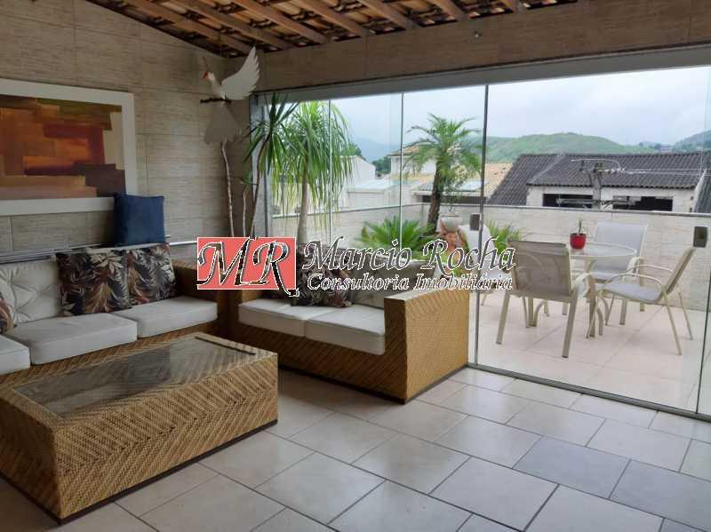 481e02cb-f346-4bac-a4ac-60eb86 - Valqueire luxo casa 4 qts suíte terraço piscina 3 vgs - VLCN40019 - 28
