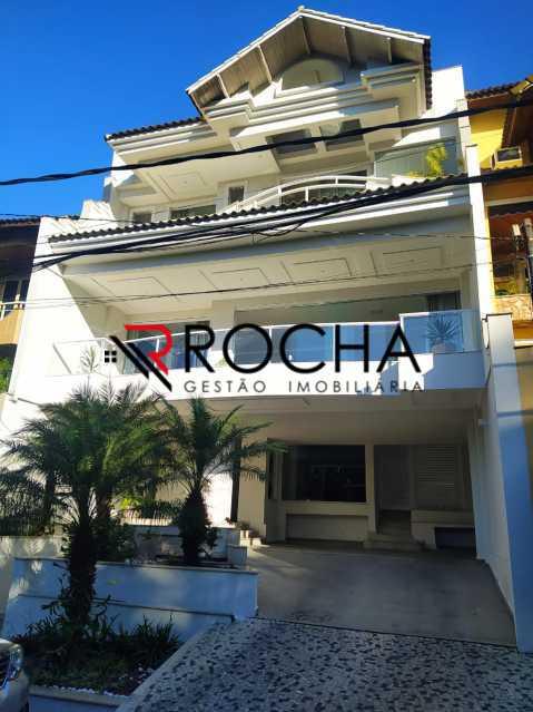 Fachada - Valqueire, CASA Triplex, 4 suites, piscina, quintal - VLCN40020 - 3