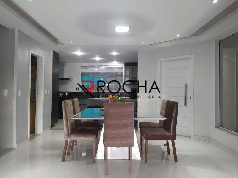 Sala de jantar - Valqueire, CASA Triplex, 4 suites, piscina, quintal - VLCN40020 - 6