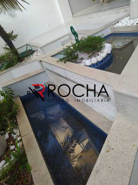 Fonte entrada - Valqueire, CASA Triplex, 4 suites, piscina, quintal - VLCN40020 - 7