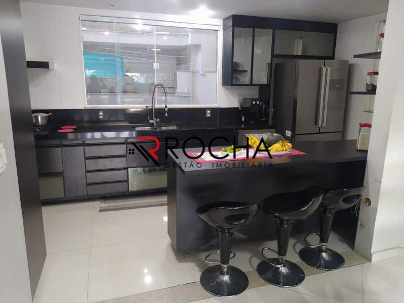 Cozinha - Valqueire, CASA Triplex, 4 suites, piscina, quintal - VLCN40020 - 8