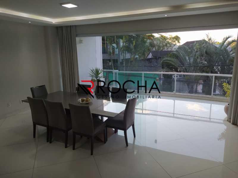 Sala 2 - Valqueire, CASA Triplex, 4 suites, piscina, quintal - VLCN40020 - 10