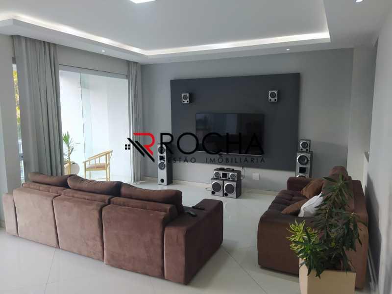 Sala de estar - Valqueire, CASA Triplex, 4 suites, piscina, quintal - VLCN40020 - 11