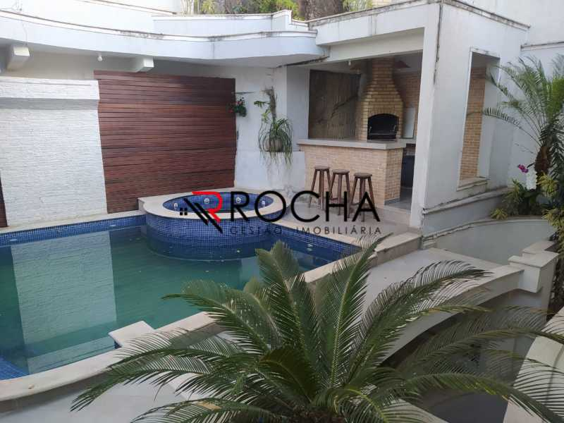 Piscina + hidro + churrasqueir - Valqueire, CASA Triplex, 4 suites, piscina, quintal - VLCN40020 - 20