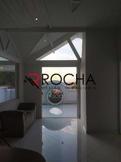 Escritório e varanda - Valqueire, CASA Triplex, 4 suites, piscina, quintal - VLCN40020 - 26