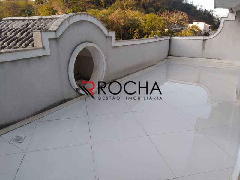 Varanda 3 andar - Valqueire, CASA Triplex, 4 suites, piscina, quintal - VLCN40020 - 27
