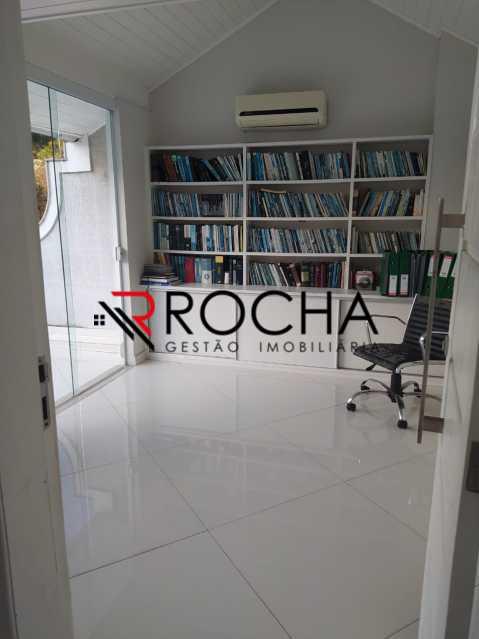 Biblioteca / Sótão - Valqueire, CASA Triplex, 4 suites, piscina, quintal - VLCN40020 - 29