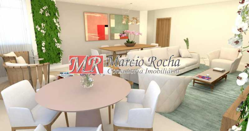 fotos-2 - Lagoa Zona Sul, Luxo, Apartamento de 4 quartos 3 suítes 1vg - VLAP40013 - 3