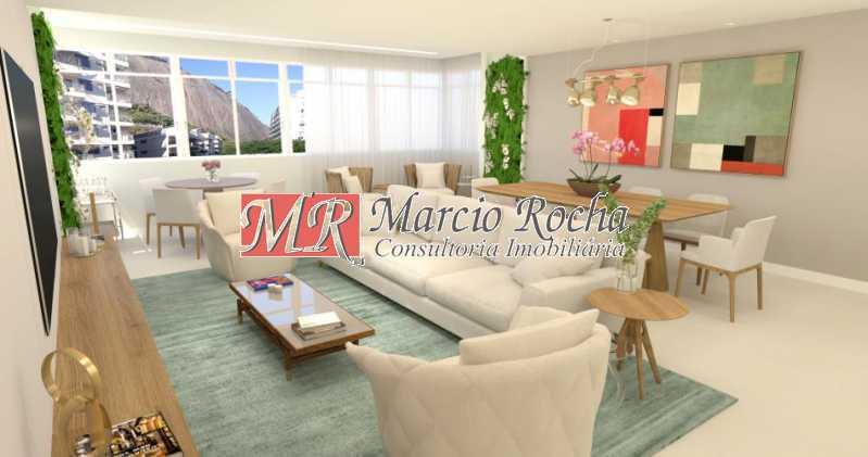 fotos-5 - Lagoa Zona Sul, Luxo, Apartamento de 4 quartos 3 suítes 1vg - VLAP40013 - 6