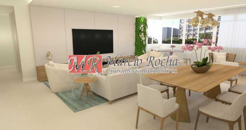 fotos-6 - Lagoa Zona Sul, Luxo, Apartamento de 4 quartos 3 suítes 1vg - VLAP40013 - 7