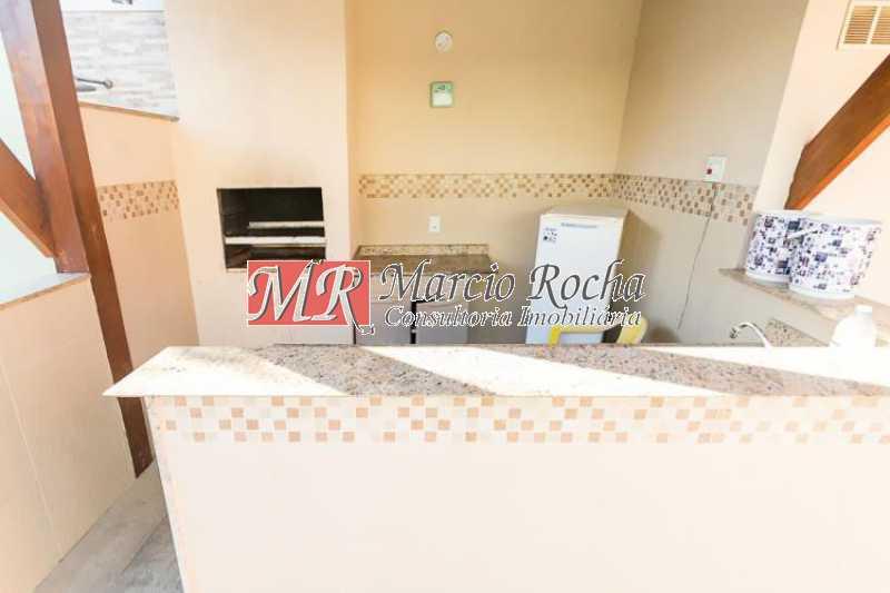 fotos-3 - Pechincha casa cond. duplex 3 qts suíte 2 vgs ac carta - VLCN30047 - 7