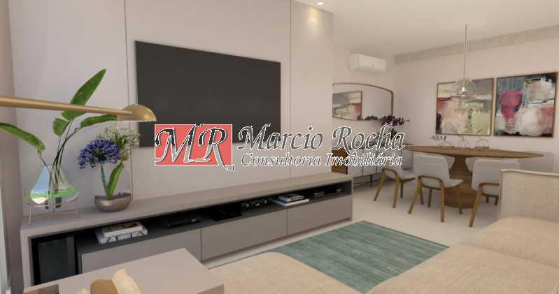fotos-3 - Tijuca metrô, AP vazio, 85 m²,3 quartos 2suítes,2vagas - VLAP30131 - 4