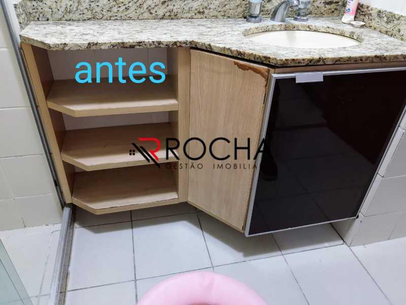 Banheiro social - Apartamento 2 quartos à venda Praça Seca, Rio de Janeiro - R$ 290.000 - VLAP20354 - 6