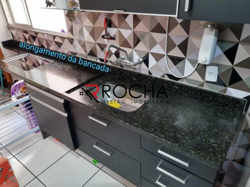 Cozinha 3 - Apartamento 2 quartos à venda Praça Seca, Rio de Janeiro - R$ 290.000 - VLAP20354 - 13