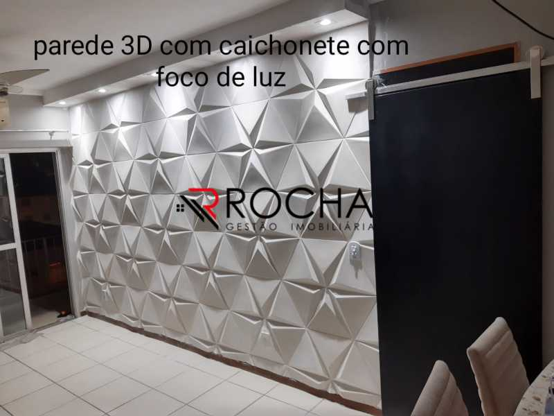 Sala 3 - Apartamento 2 quartos à venda Praça Seca, Rio de Janeiro - R$ 290.000 - VLAP20354 - 4