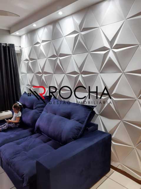 Sala 2 - Apartamento 2 quartos à venda Praça Seca, Rio de Janeiro - R$ 290.000 - VLAP20354 - 3
