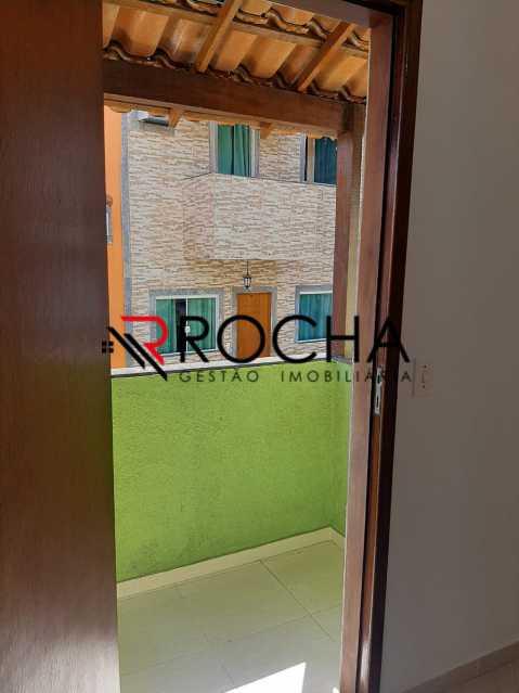 Varanda - Casa em Condomínio 2 quartos à venda Vila Valqueire, Rio de Janeiro - R$ 220.000 - VLCN20048 - 9